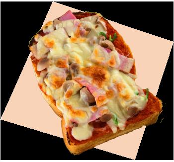 ピザトースト写真